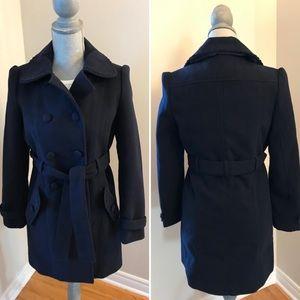Yumi Navy Coat